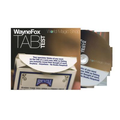 tab test by wayne fox world magic shop magic reviewed. Black Bedroom Furniture Sets. Home Design Ideas